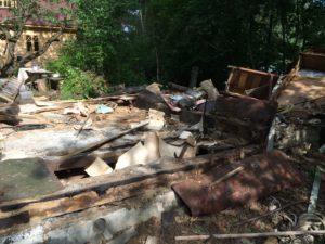 Вывоз строительного мусора после демонтажа