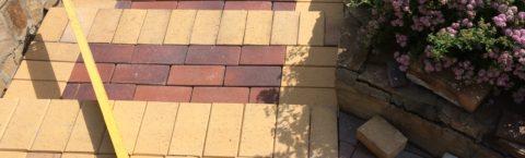 Укладка тротуарного камня